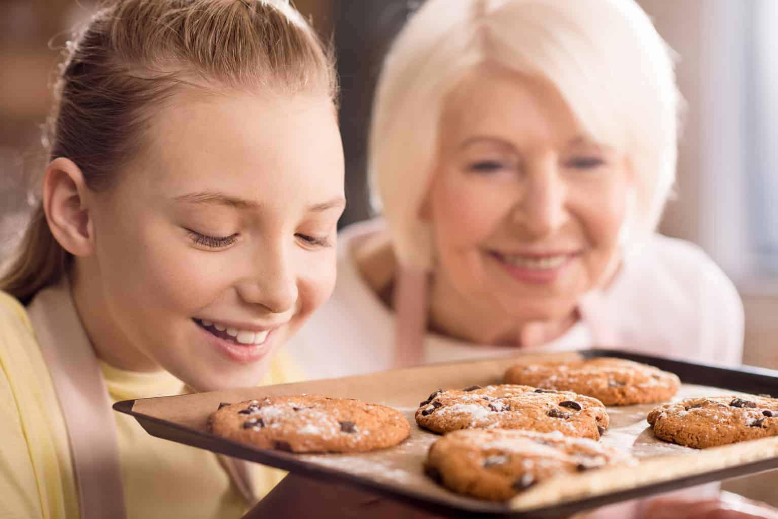 Homeschooling Grandchildren Cookies