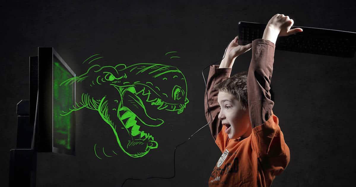 Screen Time Kids Dinosaur