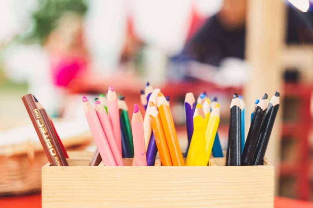 Suggested School Supplies for Kindergarten
