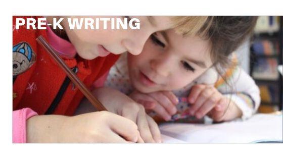 Pre-K Writing
