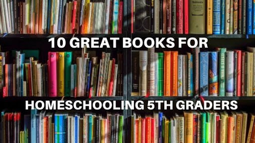 10 Great Books or Series for Homeschooling 5th Graders