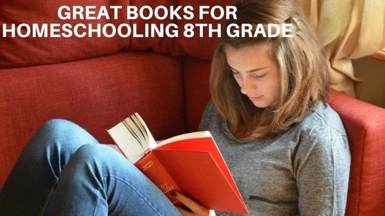 12 Great Books or Series Homeschool Reading List for 8th Graders