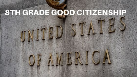 Good Citizenship Lesson Plans for 8th Grade
