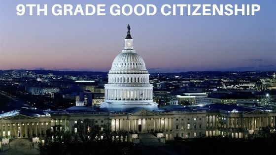 Good Citizenship Lesson Plans for 9th Grade