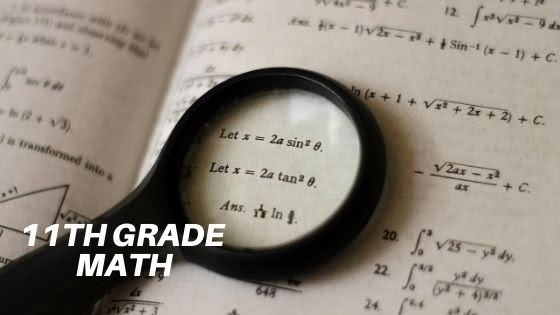 Math Checklist for 11th Grade