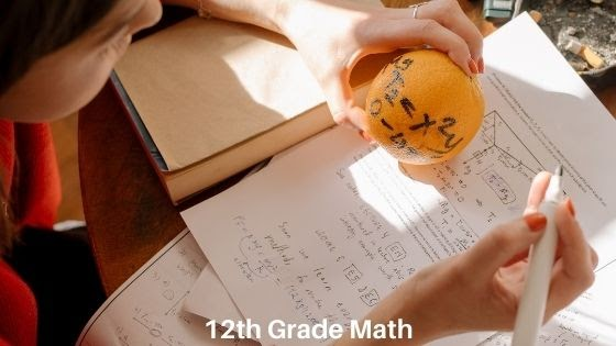 Math Checklist for 12th Grade
